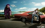 创意平面广告设计壁纸 第七集 这个暑假远离你的噩梦 意大利Meltin Pot 服饰怪兽系列广告 创意平面广告设计壁纸第七集 广告壁纸