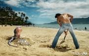 创意平面广告设计壁纸 第七集 这个暑假远离你的噩梦 Meltin Pot服饰怪兽系列平面广告 创意平面广告设计壁纸第七集 广告壁纸