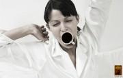wake up Aroma 咖啡广告设计 创意无限平面广告设计壁纸第五辑 广告壁纸