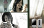 姜东元 金泰熙 玄彬代言的 金泰熙CYON广告壁纸 韩国LG CYON手机广告月历壁纸 广告壁纸
