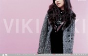 韩国 viki 美女时装壁纸 壁纸15 韩国 viki 美女 广告壁纸