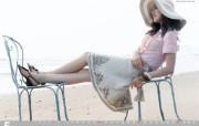 韩国 viki 美女时装壁纸 壁纸20 韩国 viki 美女 广告壁纸