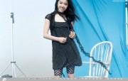 韩国 viki 美女时装壁纸 壁纸21 韩国 viki 美女 广告壁纸
