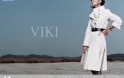 韩国 viki 美女时装壁纸 壁纸26 韩国 viki 美女 广告壁纸
