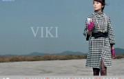 韩国 viki 美女时装壁纸 壁纸27 韩国 viki 美女 广告壁纸
