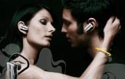 Jabra蓝牙耳机宣 广告壁纸
