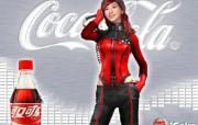 电脑手绘 SHE Hebe图片 SHE壁纸 可口可乐广告壁纸 广告壁纸