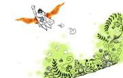 鸡翅 肯德基广告设计壁纸 肯德基广告插画壁纸第一辑 广告壁纸