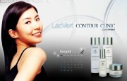 LacVert 代言明星壁纸 Advertising Design LacVert Advertising Celebrity LacVert蝶妆广告模特壁纸 广告壁纸