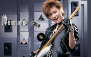 李宇春代言夏新手机 广告壁纸