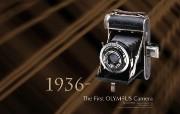 1936年 第一部奥林巴斯相机 The First Olympus Camera Semi Olympus I Olympus 奥林巴斯70年经典相机壁纸上辑 广告壁纸