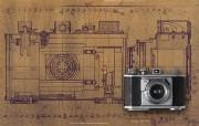 1948年的奥林巴斯古董相机 1948 Olympus Cameras Olympus 35I Olympus 奥林巴斯70年经典相机壁纸上辑 广告壁纸