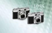 1955年的奥林巴斯古董相机 Olympus Chrome Six RIIA 1955 Olympus 奥林巴斯70年经典相机壁纸上辑 广告壁纸