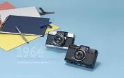 1964年的奥林巴斯古董相机 Olympus Cameras PEN D2 Olympus Cameras Pen W Olympus 奥林巴斯70年经典相机壁纸上辑 广告壁纸