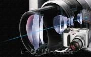2001年的奥林巴斯数码相机 C 700 Olympus Digital Cameras C 700 Olympus 奥林巴斯70年经典相机壁纸上辑 广告壁纸