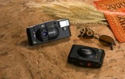 Olympus 奥林巴斯相机纪念壁纸 三 奥林巴斯相机 1985 Oplympus XA2 Camera Olympus 奥林巴斯相机三 广告壁纸