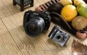 Olympus 奥林巴斯相机纪念壁纸 三 奥林巴斯E 330数码相机 2006 Oplympus Digital Camera Olympus 奥林巴斯相机三 广告壁纸