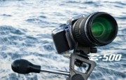 Olympus 奥林巴斯相机纪念壁纸 三 奥林巴斯数码单反相机E500 Oplympus E500 Digital SLR Camera Olympus 奥林巴斯相机三 广告壁纸