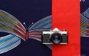 Olympus 奥林巴斯相机纪念壁纸 三 奥林巴斯OM单反相机 OLYMPUS OM Camera Olympus 奥林巴斯相机三 广告壁纸