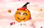 Halloween万圣节卡通壁纸 Pizzahut 节日主题卡通壁纸 广告壁纸