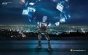 IT 24 7 机器人桌面壁纸 Windows Server 2008 机器人IT 247 广告壁纸 广告壁纸
