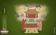 中国文化之美 台北故宫博物院历年展出主题壁纸 千华台上 藏经宝阁 中国文化之美台北故宫博物院历年展出主题壁纸 广告壁纸