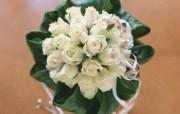 插花艺术 婚礼鲜花图片Desktop Wallpaper of Wedding flowers 插花艺术祝福的花饰 花卉壁纸