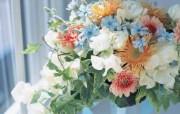 插花艺术 插花图片 Desktop Wallpaper of Flower Art 插花艺术祝福的花饰 花卉壁纸