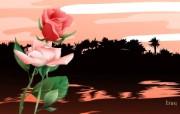 国家与鲜花 花卉壁纸