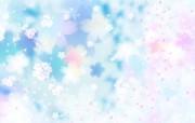 唯美清新 花卉背景图案 美丽碎花布 之 简洁淡雅系 花卉壁纸