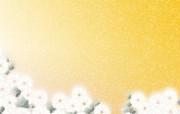 简洁系 花卉图案背景图片 美丽碎花布 之 简洁淡雅系 花卉壁纸