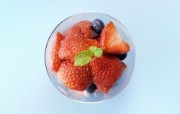水果甜点 5 12 水果甜点 花卉壁纸