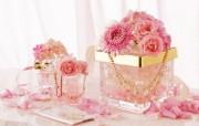 温馨庆祝花卉装饰图片 1920 1200 温馨布艺仿真花卉壁纸 花卉壁纸