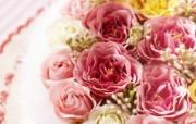 精美布艺花卉图片 1920 1200 温馨布艺仿真花卉壁纸 花卉壁纸