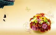 宽屏合成花卉 1 17 宽屏合成花卉 花卉壁纸