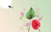 宽屏合成花卉 1 16 宽屏合成花卉 花卉壁纸