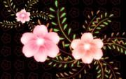 艺术风格花卉图案插画设计 花形图案 花卉背景插画 1600 1200 艺术风格花卉图案插画设计第二集 花卉壁纸