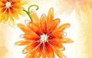 艺术风格花卉图案插画设计 艺术风格 花的图案设计 1600 1200 艺术风格花卉图案插画设计第二集 花卉壁纸