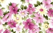 花卉背景布纹图案 碎花背景图 艺术风格花卉图案色彩 花卉壁纸