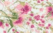 Artistic Pastel Shades Flower Patterns 艺术风格花卉图案色彩 花卉壁纸