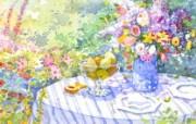 水彩花卉壁纸 水彩花卉插画壁纸 艺术与抽象花卉壁纸 花卉壁纸