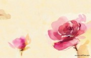 水彩花卉壁纸 水彩风格花卉壁纸 艺术与抽象花卉壁纸 花卉壁纸