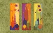 艺术花卉壁纸 抽象花卉插画壁纸 艺术与抽象花卉壁纸 花卉壁纸