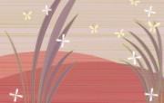 抽象花卉图案设计 抽象花卉插画壁纸 艺术与抽象花卉壁纸 花卉壁纸