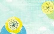 抽象花卉壁纸 抽象花卉图案设计 艺术与抽象花卉壁纸 花卉壁纸