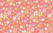 花的海洋 花卉图案设计壁纸 艺术与抽象花卉壁纸 花卉壁纸
