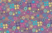 花的海洋 花卉图形设计壁纸 艺术与抽象花卉壁纸 花卉壁纸