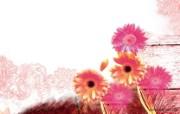 艺术花卉壁纸 花卉插画壁纸 艺术与抽象花卉壁纸 花卉壁纸