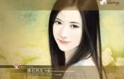 挂名男友 言情小说美女手绘图片 爱情小说手绘美女壁纸第十五辑 绘画壁纸