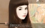 言情小说美女手绘图片 爱情小说手绘美女壁纸第十五辑 绘画壁纸